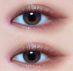 asian makeup – Hair and beauty tips, tricks and tutorials Korean Makeup Look, Korean Makeup Tips, Korean Makeup Tutorials, Asian Eye Makeup, Art Tutorials, Cute Makeup, Pretty Makeup, Beauty Makeup, Makeup Style