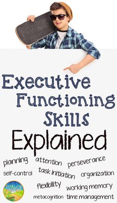 Executive Functioning Skills - Executive functions are essentially the building blocks for completing all tasks in life (in school and beyond). Any educator can help to teach and support these critical skills. Study Skills, Life Skills, Coping Skills, Study Tips, Social Work, Social Skills, Social Issues, Professor, Adhd Strategies