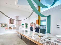 Alexander Girard retrospective opens at Vitra Design Museum Alexander Girard, Vitra Design Museum, Wallpaper Magazine, Global Design, Mid Century Modern Design, Edge Design, Modern Graphic Design, Colorful Interiors, Mid-century Modern