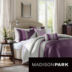 Madison Park Mendocino 6-piece Duvet Cover Set