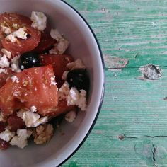 Mi ensalada griega #GourmetBilbao
