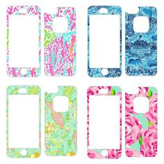 Lilly Pulitzer Print Skin for Lifeproof fre iPhone 5/5s Case