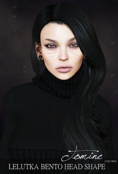 :: D-Style - Tomine Lelutka Bento Head Shape ::