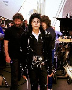 """Michael Jackson - The making of """"Speed Demon"""" 
