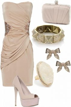 pretty evening outfit