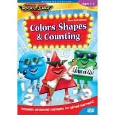 Colors, Shapes & Counting: Rock `N Learn $15.02