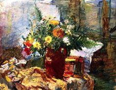Still LIfe with Flowers, Oskar Kokoschka - 1931