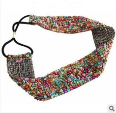 Find More Hair Accessories Information about 2014 NEW fashion  Europe style   handmade with beads sequins  multicolor 3.5 cm hairband headbands   hair accessory 1 pcs,High Quality Hair Accessories from huanyu commodity  co.,ltd on Aliexpress.com