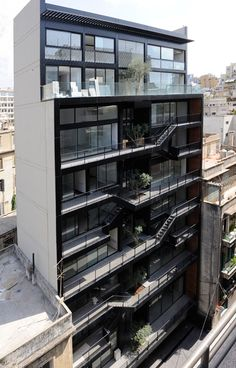Built by Bernard Khoury Architects in , Cyprus with date 2009. Images by Bernard Khoury Architects.    The Rmeil 183 residential building designed by Bernard Khoury Architects is located on a 247 m² land on lot #18...