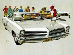 1966 Pontiac 2+2 Hardtop Coupe - 'Boat Racers': Art Fitzpatrick and Van Kaufman