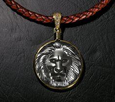 Great Spirit Lion of Kuramongo Village Carved by GoodSpiritWolf, $46.00