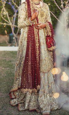 Pakistani Bridal Couture, Pakistani Bridal Dresses, Pakistani Dress Design, Pakistani Outfits, Bridal Lehenga, Wedding Dresses, Nikkah Dress, Shadi Dresses, Indian Dresses