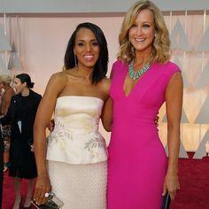 kerrywashington on the #OscarsRedCarpet