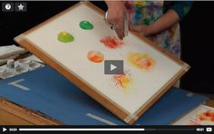 On the Brusho Secrets website Joanne Boon Thomas offers some free lessons on using the watercolor crystals