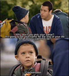 Dylan & Cole Sprouse in Big Daddy with Adam Sandler! They played precious Julian. Hahah i love this movie so much.