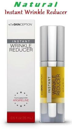 This is a NATURAL, instant wrinkle reducer!