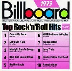 Billboard Top Rock N Roll Hits: 1973