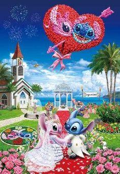 Disney Jigsaw puzzles: Lilo and Stitch Disney And More, Disney Love, Disney Art, Walt Disney, Stitch Disney, Lilo Et Stitch, Cute Disney Wallpaper, Wallpaper Iphone Disney, Lelo And Stich