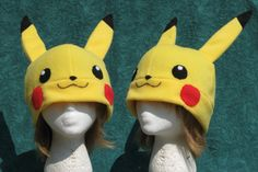 Eventually, I'll get around to make one for Tony.    http://clearkid.deviantart.com/art/Pikachu-Hat-123663824