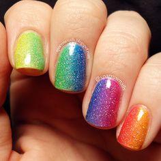 SparrowNails: Rainbow Nail Art