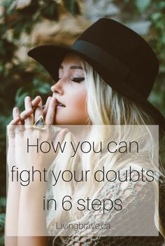 So let's get you ready to fight your doubts. Here are my secret weapons summarized to get you going for your big adventure.