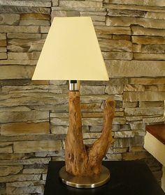 Wood / Stolová lampička - Predaná
