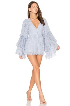 7cd9c5e0b467 Alice McCall Arizona Playsuit in Periwinkle Lace Jumpsuit