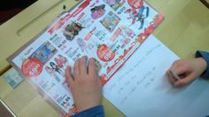 Joulumatematiikkaa; annoin oppilaille lahjakuvastot ja jokaiselle 100e kuvitteellista rahaa. Oppilaat saivat valita kuvastosta lahjat läheisilleen. Paperille merkittiin lahjat ja laskettiin koko ajan, kuinka paljon rahaa on vielä jäljellä.