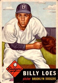 174 - Billy Loes - Brooklyn Dodgers
