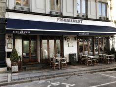 Restaurant Fishmarket, cuisine française. Un délicieux bar à poissons. Francis, 2013 I Francisapp.com