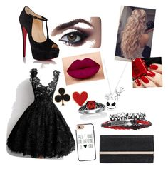 First Date with Alberto Del Rio by fbiennwanke on Polyvore featuring polyvore fashion style Christian Louboutin Jimmy Choo Palm Beach Jewelry Alison Lou Disney Casetify clothing