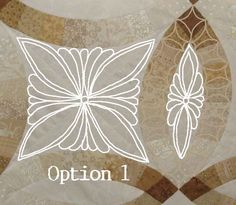 """Want to make lovely feather motifs like this one? I decided to write a simple """"how-to"""" for quilting basic feather types. This post is also for the students in my class yesterday who had questions..."""
