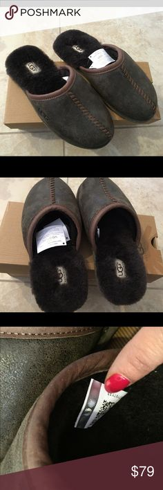 Ugg men's slippers size 7 new Ugg men's slippers size 7 new with box UGG Shoes Loafers & Slip-Ons