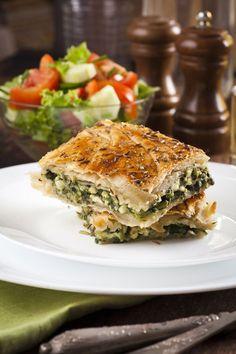 search - www. Greek Pita, Pita Recipes, Spanakopita, Salmon Burgers, Quiche, Sandwiches, Food Porn, Vegetarian, Sweets