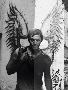 Daryl Dixon Street Fan Art ~ The Walking Dead