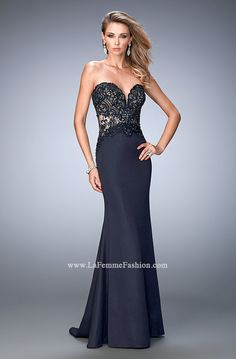 Look red-carpet-ready in Gigi Prom Style 22774 available at WhatchamaCallit Boutique