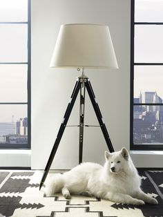 The downtown modern collection from Ralph Lauren Home features the sleek refinement of an urban penthouse