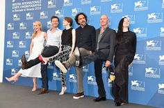 Actors Amy Ryan, Edward Norton, Emma Stone, director Alejandro Gonzalez Inarritu, actors Michael Keaton and Andrea Riseborough attend the 'Birdman' photocall during the Venice Film Festival Edward Norton, Michael Keaton, Best Friend Photos, She Movie, Emma Stone, Picture Photo, Film Festival, Venice, It Cast