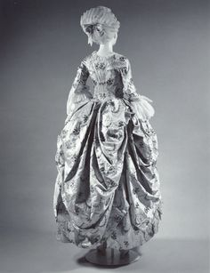 Robe a la Polonaise from the Metropolitan Museum of Art