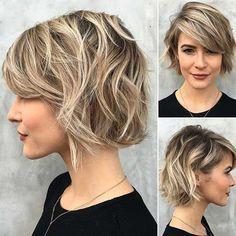 30+ Wavy Short Hair | The Best Short Hairstyles for Women 2015