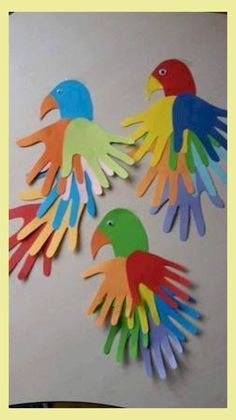 50 Awesome Spring Crafts for Kids Ideas - DIY - Basteln mit Kindern - Kids Crafts Diy Mother's Day Crafts, Diy Arts And Crafts, Diy Crafts For Kids, Art For Kids, Craft Ideas, Kids Diy, Diy Ideas, Children Crafts, Baby Crafts