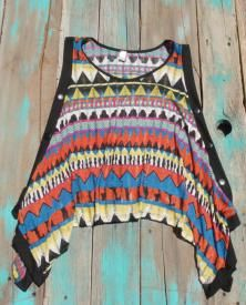 Southwest cowgirl Top $18.99