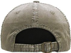 f5ca76f9e68 KBETHOS KBVT-670 OLV Vintage Baseball Cap Distressed Washed Dad Hat  Amazon.ca   Clothing   Accessories
