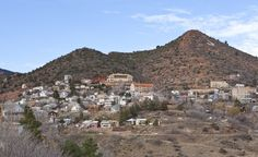 The town of Jerome, Ariz., built on Cleopatra Hill. (Whitney Tressel) From: Coolest Small Towns 2012. Click on the photo to nominate your favorite small town for 2014's contest!