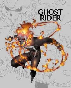 ghostrider by on DeviantArt Ghost Rider Motorcycle, New Ghost Rider, Ghost Rider Marvel, Flash Comics, Marvel Comics Art, Marvel Comic Character, Marvel Characters, Me Anime, Anime Manga