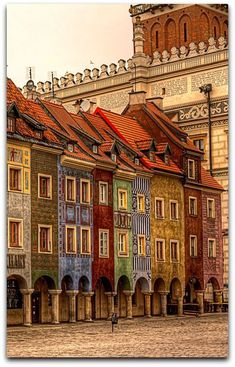 Architecture @archpics Poznan Old Market, Poznan, Poland