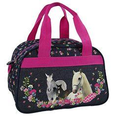 2ff1f4e118 Cheval sac de voyage, sport, loisirs, sac bagage a main pour les enfants  idée cadeau Chevaux Horses