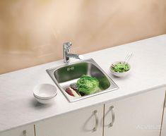 Elite corner kitchen apron sink for 2019 Stainless Steel Double Sink, Undermount Stainless Steel Sink, Undermount Sink, Stainless Kitchen, Corner Sink Kitchen, Apron Sink Kitchen, Kitchen Sink Design, Kitchen Sinks, Inset Sink