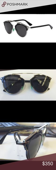 86a4616797ce9 Dior So Real sunglasses DIOR SO REAL - BLACK   SILVER 48 mm 💯% authentic brand  new Dior Accessories Glasses