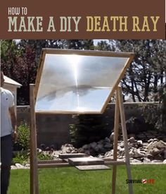 Learn how to turn an old television into a 2000 degree solar heater ! Survival Life is the best source for survival tips, gear and off the grid living.